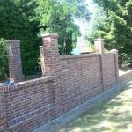 Fassade eines Sichtmauerwerks vom Bauunternehmen Lars Petersen