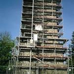 Sanierung eines Steinmauerwerks